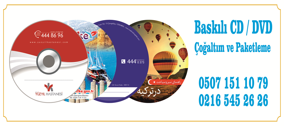 CD/DVD Baskı
