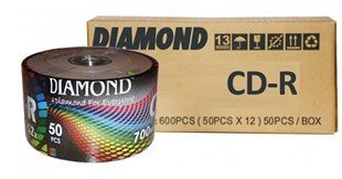Diamond CD-R, 52X, 700MB, 600 Adet / Koli