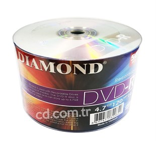 DIAMOND DVD-R 16X 4.7GB - 600 Adet/Koli