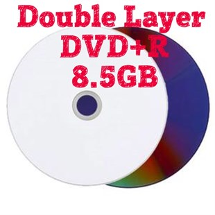 DMS Double Layer DVD+R DL, 8X, 8.5GB, 50li Paket