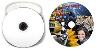 DMS İNKJET PRINTABLE CD-R 700MB - 600 Adet / Koli