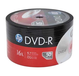 HP DVD-R, 16X, 4.7GB, 50li Paket