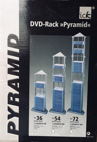 Nexus, Piramit DVD Rafı 36lı